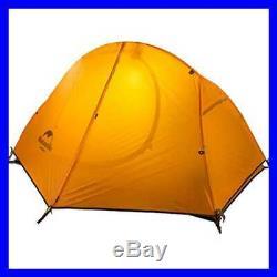 1 2 Man Person 3 Season Tent For Camping Backpacking Hiking Ea ORANGE Mens
