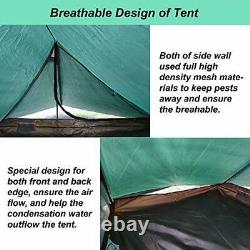 1-2 Man Trekking Pole Backpacking Tent for Outdoor Hiking Camping Mountaineering