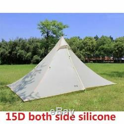 1-2 Person Lightweight Camping Tent Outdoor Hiking Backpacking Hunting Ultraligh