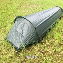 1 Man Person Waterproof Camping Tent Ultralight Sleeping Bag Travel Backpacking