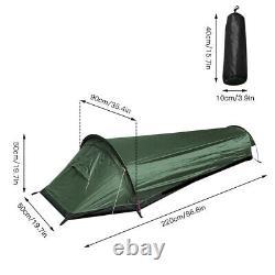 1 Man Tent Ultralight Backpack Camping Tent Waterproof Outdoor Hiking Fishing