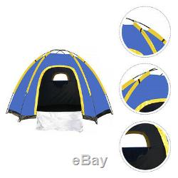 1 Set Waterproof Foldable Durable Portable Camping Tent for Men Adults Women