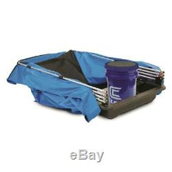 1-person Ice Sight Fishing Shelter Tent Camp Lightweight Portable Bucket Bracket