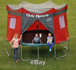 12 Feet Trampoline Cover Club House Play Tarp Enclosure Camp Propel Tent Kids