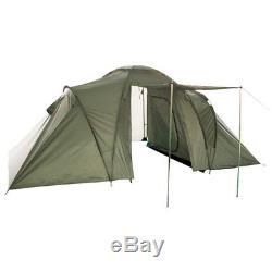 2+2 Men Person Tent Camping Hiking Festival Travel Bushcraft Shelter Olive Green