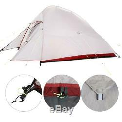 2-3 Man Person Family Tent Camping Festival Waterproof Windproof Shelter Hiking