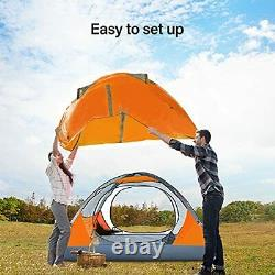 2 Man Camping Tent Lightweight Backpacking Tent Easy Set Up Waterproof