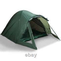 2 Man Double Skin NGT Green Carp Fishing Bivvy Tent Shelter Waterproof Camping