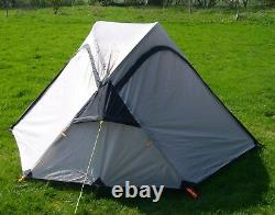 2 Man Lightweight Backpacking Tent, True 2 Person Camping Tent GREY 2.75 kg