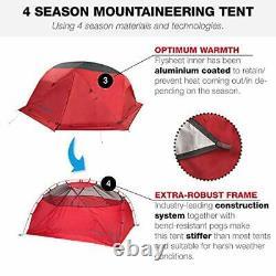 2 Man Tent 4 Season Camping Mountaineering