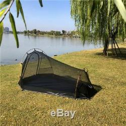 2 Man Two Person Camping Tent Bivy Waterproof Tunnel Hoop Army Survival Hunting