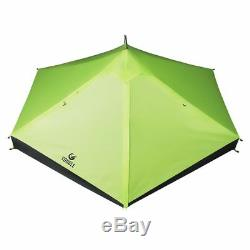 20D One Layer 2 Men Two Person Backpacking Tent 3 Season For Camping Hiking
