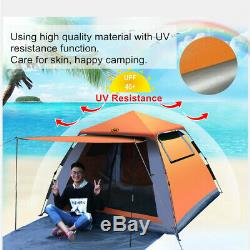 3-4 Person Man Family Tent Instant Up Tent Breathable Outdoor Camping