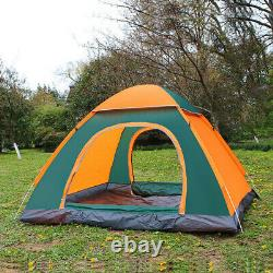 3-4 Person Man Instant Run Up Tent Automatic Camping Festival Outdoors #