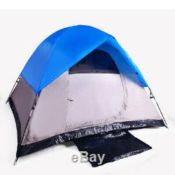 3 Man Dome Camping Tent by Barton Outdoors Water Resistant with Carry Bag