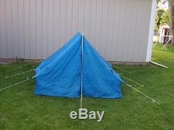 3 Man Nylon Wall Style Mountain Tent JCPENNEY SPORTS Center 7x7 Camping Hiking