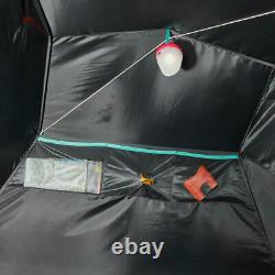 3 Man Person Fresh Black XL Blackout Waterproof Outdoors Camping Tent Shelter
