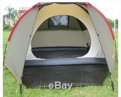 3 Man Person Waterproof Dome Tent Camping Shelter Car Touring Hiking Trekking