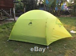 3F 2 3 Person Man Ultralight Outdoor Camping Camp Tent 3-4 Season Backpacking