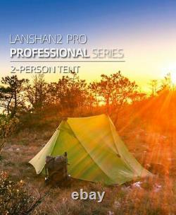 3F LANSHAN 2 Pro UL GEAR 2 Person Man Outdoor Ultralight Camping Tent 3 Season