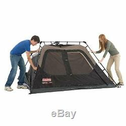 4 Man Camping Tent Cabin Tent Instant Setup Weather Protective 4 Person New