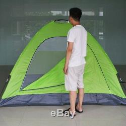 4 Man Four Person Camping Tent Waterproof Dome 4 Season Lightweight Hiking Bush