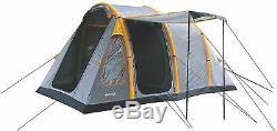 4 Man Inflatable AEOLUS Family Tunnel Tent 4 Person Camping Air POLE PU 3000mm H