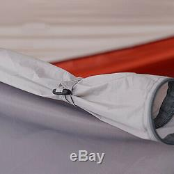 4 Person Man Double Skin Family Camping Tent Outdoor Travel Waterproof With Mat