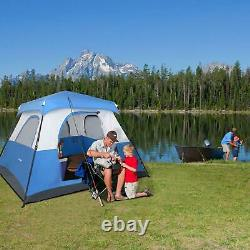 6 Man Person Camping Tent Waterproof Room Outdoor Hiking Backpack Fishing