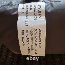 6 Man Tunnel Tent Men Person Ozark Orange and Grey Camping Staycation Family