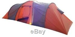 8 Berth Tent Family Camping Eight Man Tent Highland Trail Ohio 2 Bedroom NEW