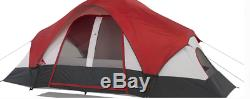 8 Man Person Dome Tent 2 Door Family Waterproof Camping Shelter Sleeping Unit