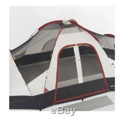 8 Man Person Dome Tent 2 Door Waterproof Family Camping Shelter Sleeping Unit
