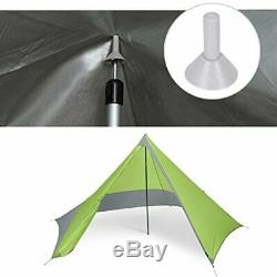 Adjustable Tarp Poles Set of 2 for Tents, Camping, Shelters, Up to 90.56 inch