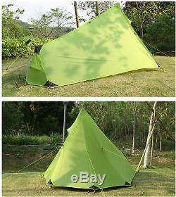 Andaker 1.6Lb Ultralight Backpacking Tents One Person Man