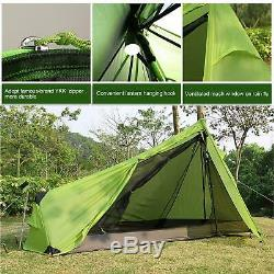 Andaker 1.6lb Ultralight Backpacking Tents One Person Man Hiking Single Camping