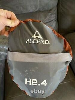 Ascend H2.4 4 Man Tent Camping Hiking Backpacking Brand New