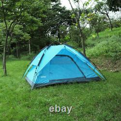 Automatic Instant Pop Up Tent Camping Hiking Waterproof Family Special 3-4 Man