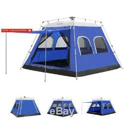 6 Man Instant Cabin Tent for Camping Person Coleman Outdoor
