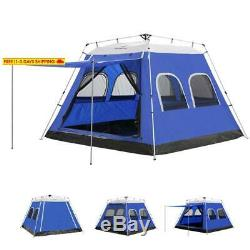 Ayamaya Camping Tents 4-6 Persons/People/Man Instant Cabin Tent With 6 Screen W