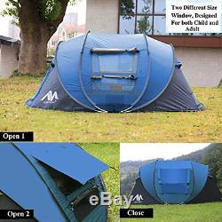 Ayamaya Pop Up Camping Tents for 3 to 4 Person/People/Man Quick Easy Setup Beach