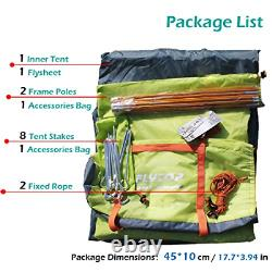 Azarxis 1 2 Man Person 3 Season Tent for Camping Backpacking Hiking Easy Set Up