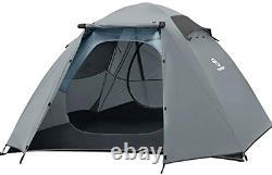 Bessport Camping Tent Lightweight Backpacking 4 Person Tent Waterproof Two Doors