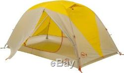Big Agnes Tumble 2 MtnGLO Camping & Backpacking Tent 2 Man YellowithGrey