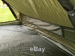 Brand New French Military 2 Man Tent Army Green Camping Bushcraft Shelter