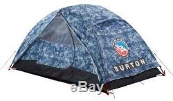 Burton Big Agnes Nightcap Camping & Backpacking Tent, 2 Man Indigo