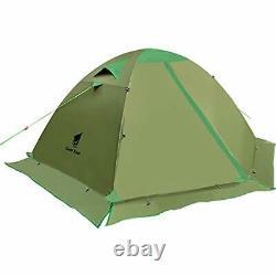 Camping Tent 2 Man Backpacking Tent Waterproof Outdoor Hunting Hiking Climbing