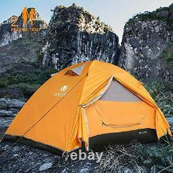 Camping Tent, Dome 2 Person Lightweight Backpacking Tent Waterproof Two Man