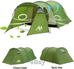Camping Tents 3-4 Person/Man/People with 2/Two Room Bedroom + Living Room, AYA