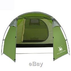 Camping Tents 3-4 Person/Man/People with 2/Two Room Bedroom Living Room, Wate